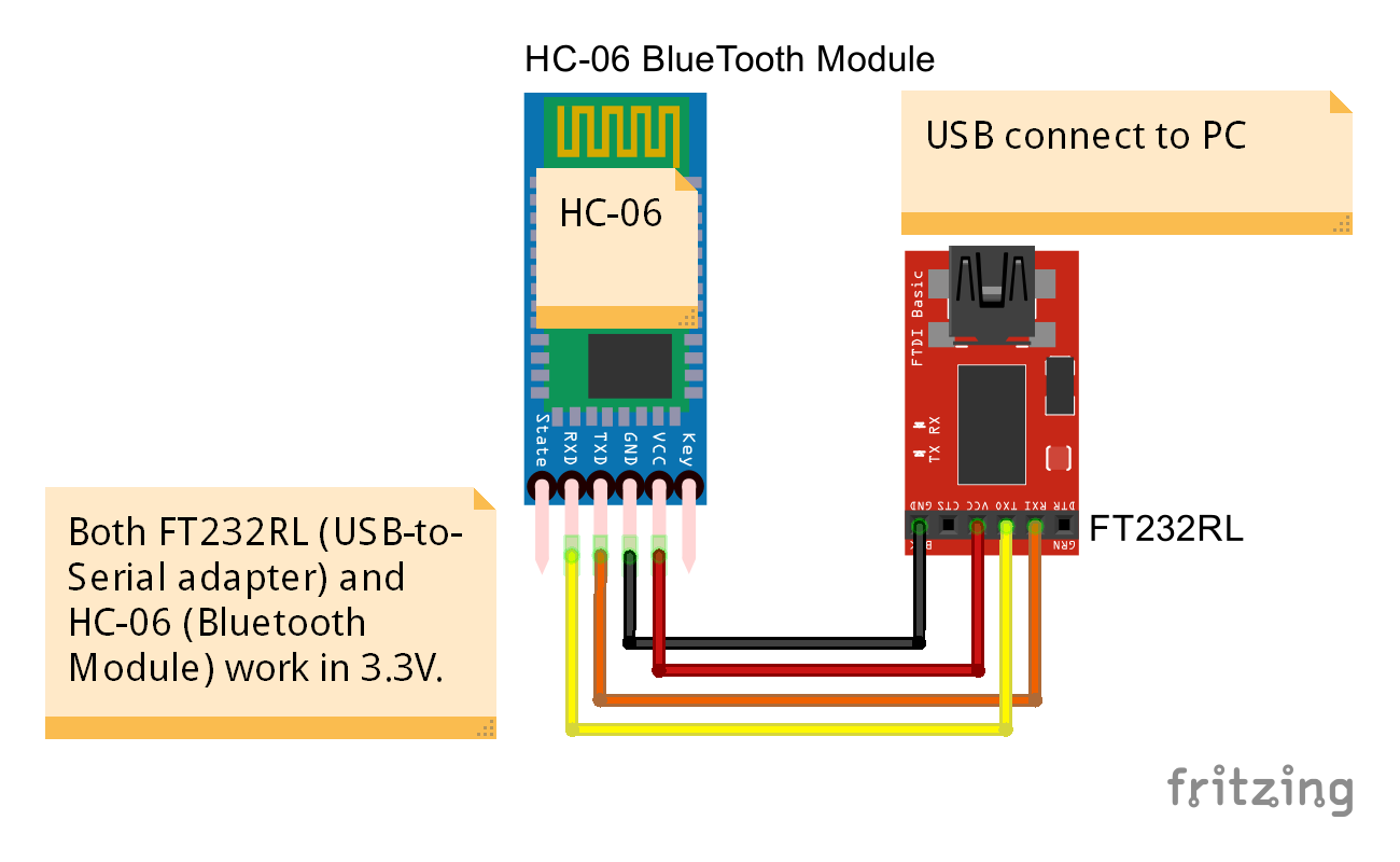 Android Bluetooth connect PC (running Windows10) via HC-06 BT Module