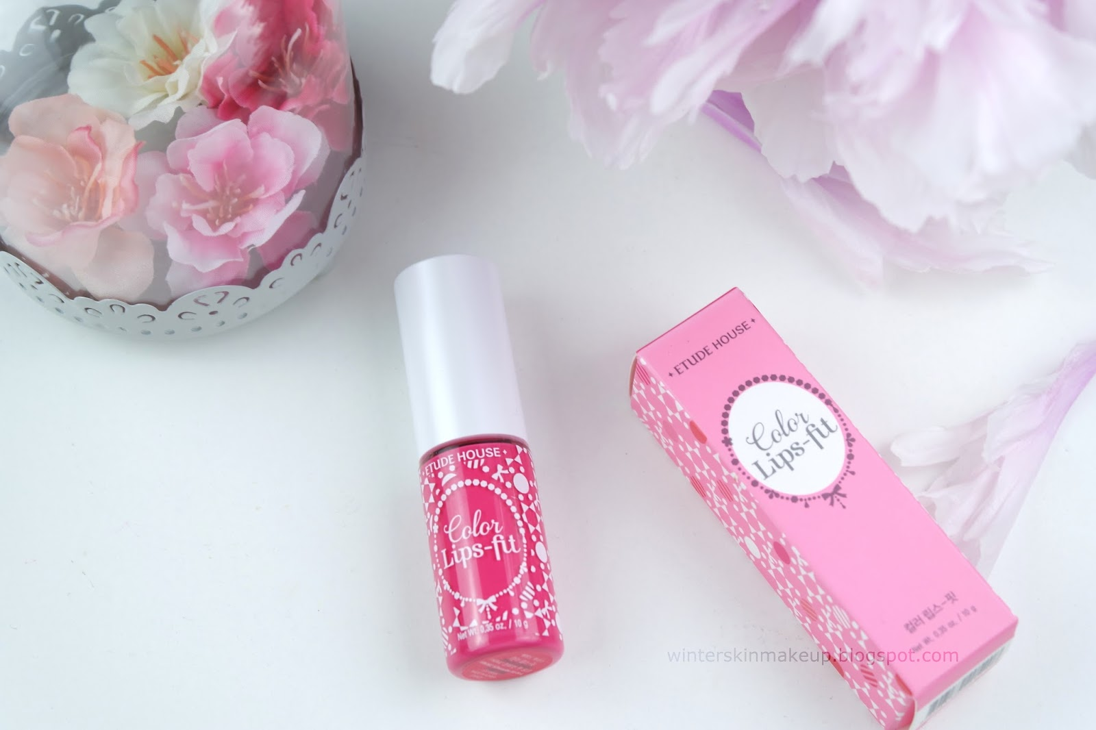 Etude House Color Lips Fit - Silhouette Pink