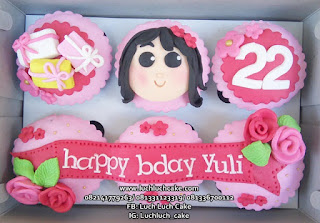 Cupcake Ulang Tahun Guru Dan Murid