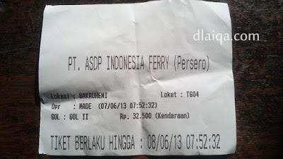 tiket kapal ferry Bakauheni-Merak