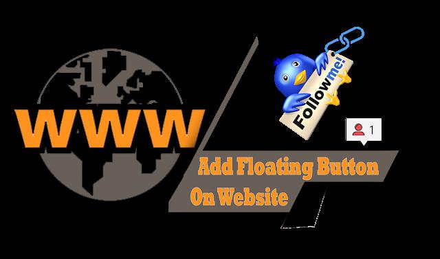 https://www.pawanblogs.com   | Rank Your Website Higher Add Floating Follow Button On Blogger or Website