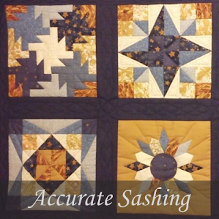 Accurate Quilt Sashing