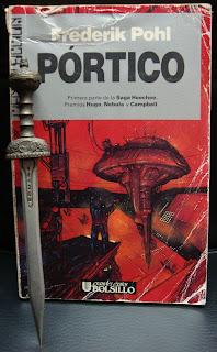 Portada del libro Pórtico, de Frederik Pohl