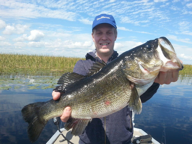 Okeechobee fishing report for okeechobee bass fishing for Lake okeechobee fishing guides