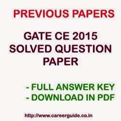 Gate Solved Question Papers For Civil Engineering Pdf