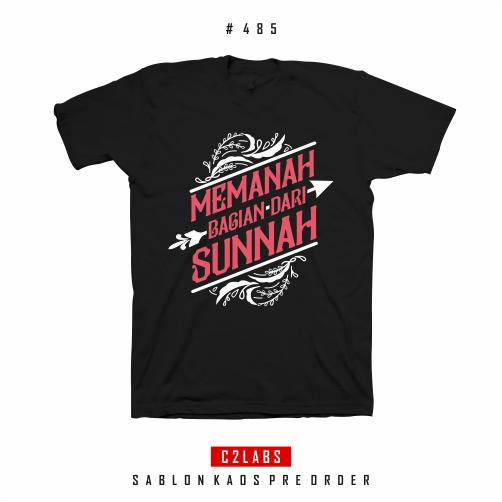 Memanah Adalah Sunnah - Desain Kaos Muslim Dakwah Islami #485