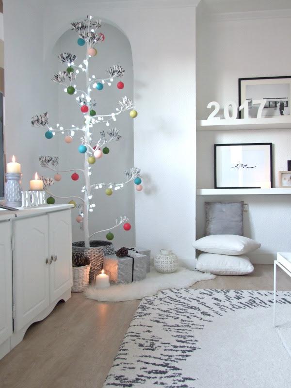 árbol de navidad rama