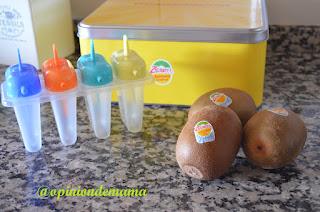 Polo de Kiwis Zespri y Trina de naranja