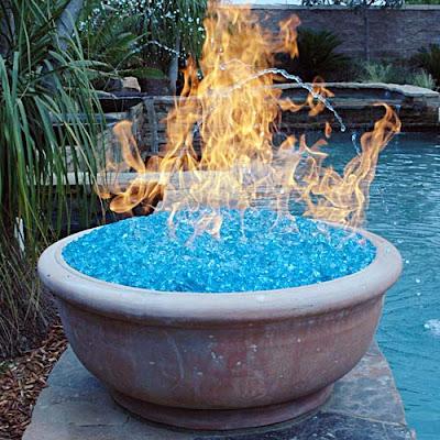 fireglass pierre en verre