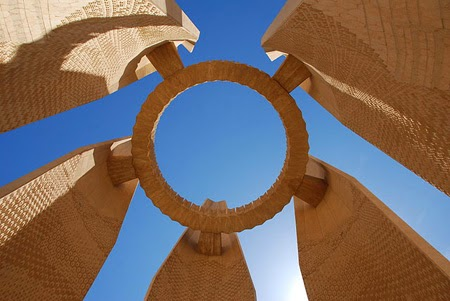 turkmenistan architecture, central asian art craft tours