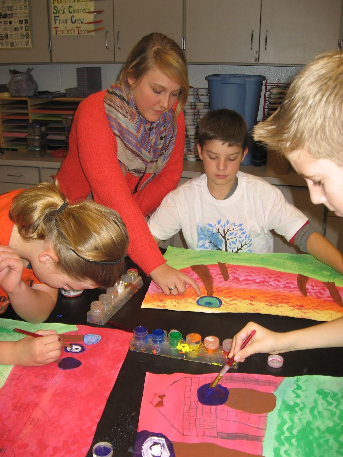 Jamestown Elementary Art Blog 5th Grade Hundertwasser Architecture