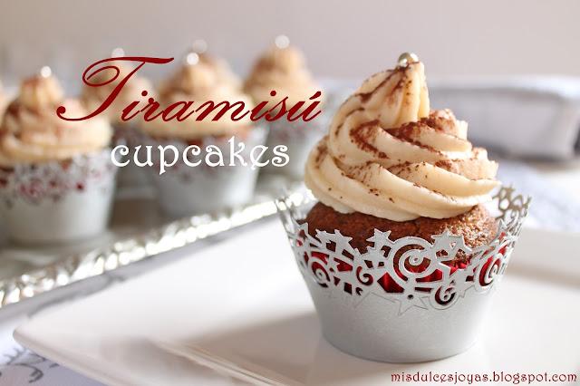Tiramisú cupcakes