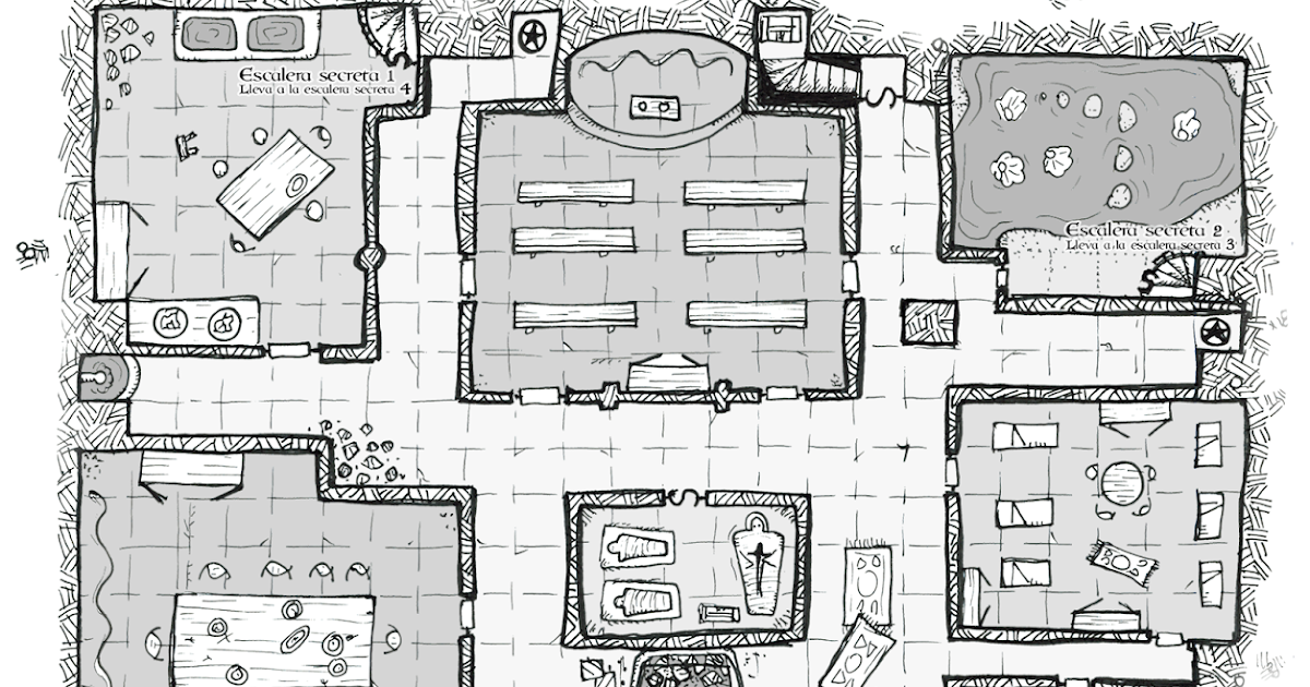 El Tomo Carmesí: Dungeon Cluedo