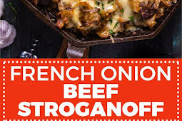 FRENCH ONION BEEF STROGANOFF