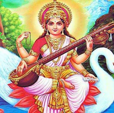 Picture Of Saraswati Mata
