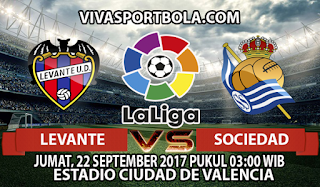 Prediksi Levante vs Real Sociedad 22 September 2017
