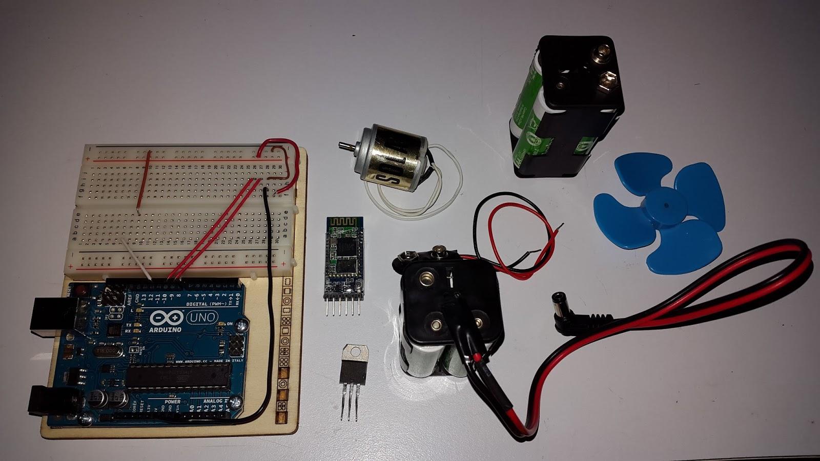 Circuito Bluetooth Casero : Carton geek: motor dc bluetooth con arduino