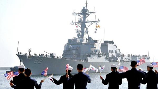 EE.UU. y Corea del Sur realizarán maniobras navales conjuntas