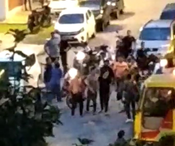 [Video] Terkini Kecoh Melayu & India Bergaduh Di Flat Sri Johor?
