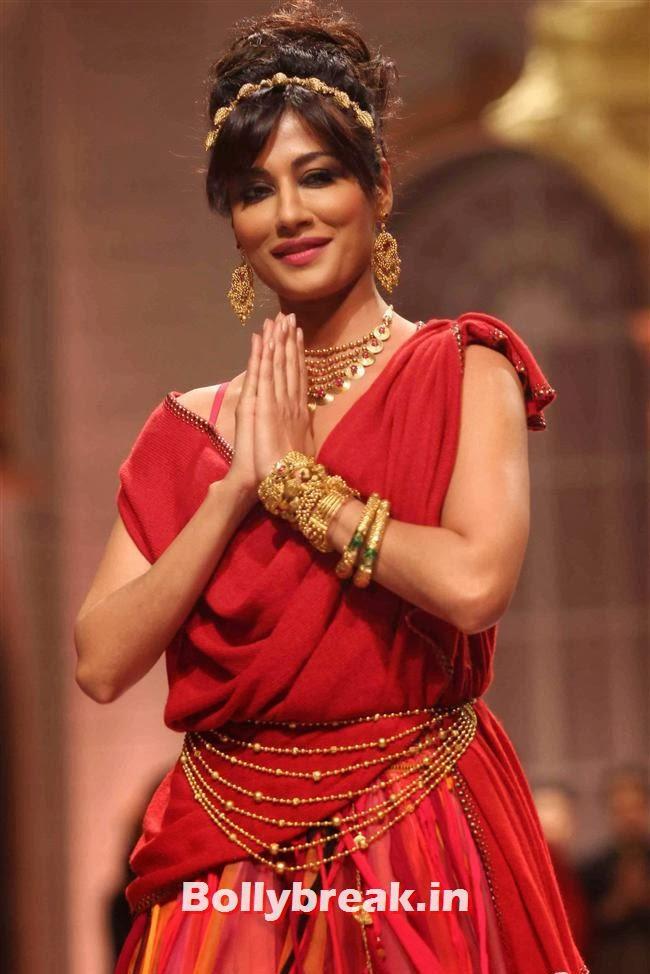 Chitrangada Singh, Bollywood Celebs at India Bridal Fashion Week