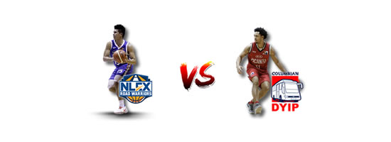 April 28: NLEX vs Columbian, 4:30pm Ynares Center Antipolo