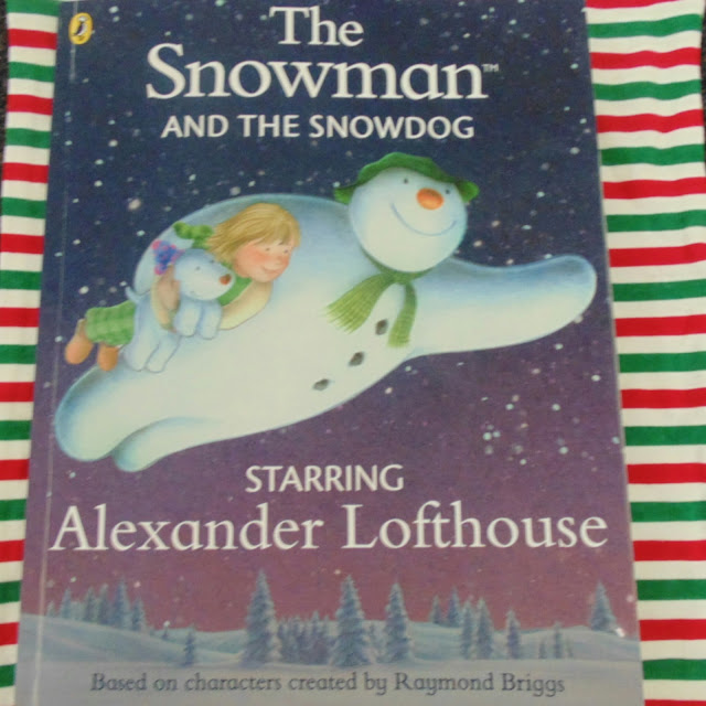Personalised Snowman and Snowdog book, Penwizard