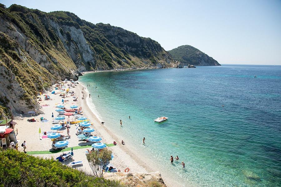 Elba, Toscana, playas de Italia