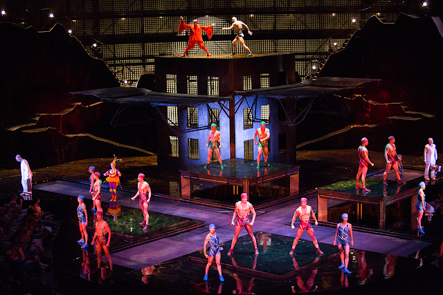 Cirque du Soleil's La Nouba performs LIVE stunt with Experience Kissimmee on March 31st
