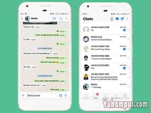 download tema whatsapp ios 11 untuk android