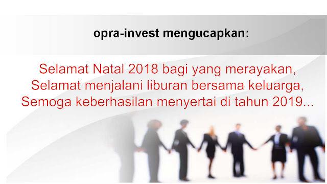 selamat natal 2018 dan tahun baru 2019, opra-invest, odith adikusuma