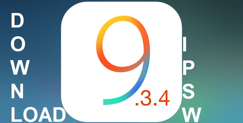 Download iOS 9.3.4 IPSW