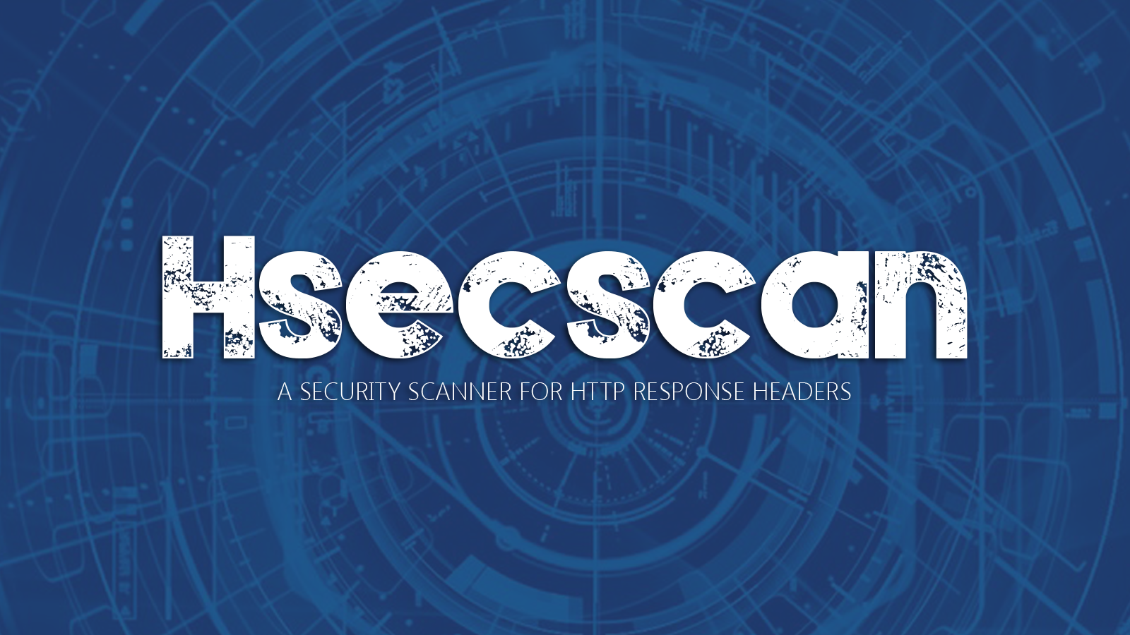 Hsecscan - A Security Scanner for HTTP Response Headers