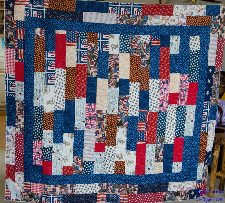 Quilt Patterns For Quilts Of Valor : Alycia Quilts: Quilts of Valor 2016