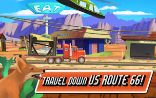 Game Truck Driving Race US Route 66 App