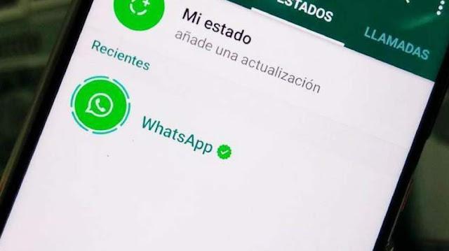 publicidad en los estados de WhatsApp para 2019