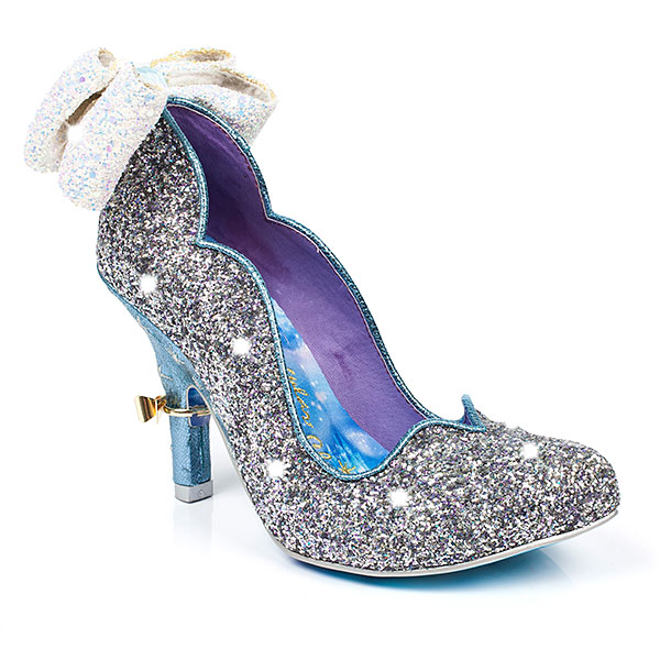 irregular choice puts its irreverent spin on cinderella shoes