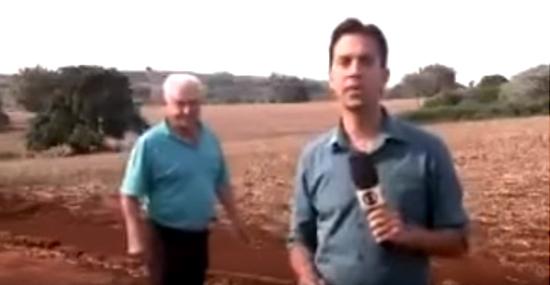 Em Rolândia morador assusta repórter da Globo que falava de onças - Capa