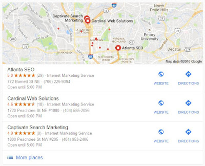 Google Local SEO Company in Atlanta