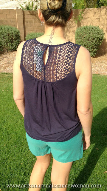 Skies are Blue Bradie Embroidery Front Knit Top - Back - Stitch Fix Review - March 2016