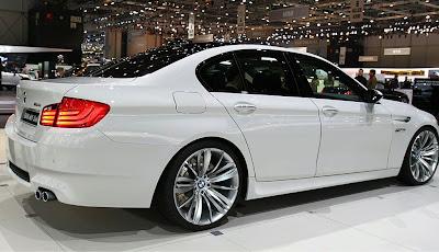 BMW M5 f10 side view