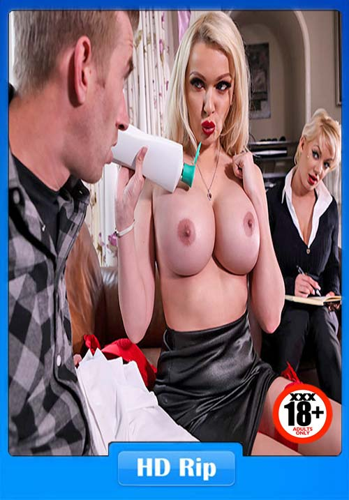 [18+] MommyGotBoobs - Amber Jayne - Door To Door Rub And Tug XXX Poster