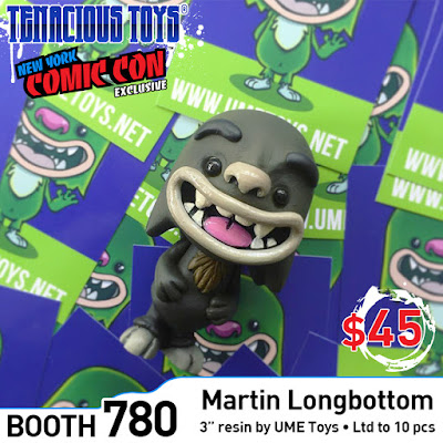 New York Comic Con 2018 Exclusive Martin Longbottom Resin Figure by UME Toys x Tenacious Toys