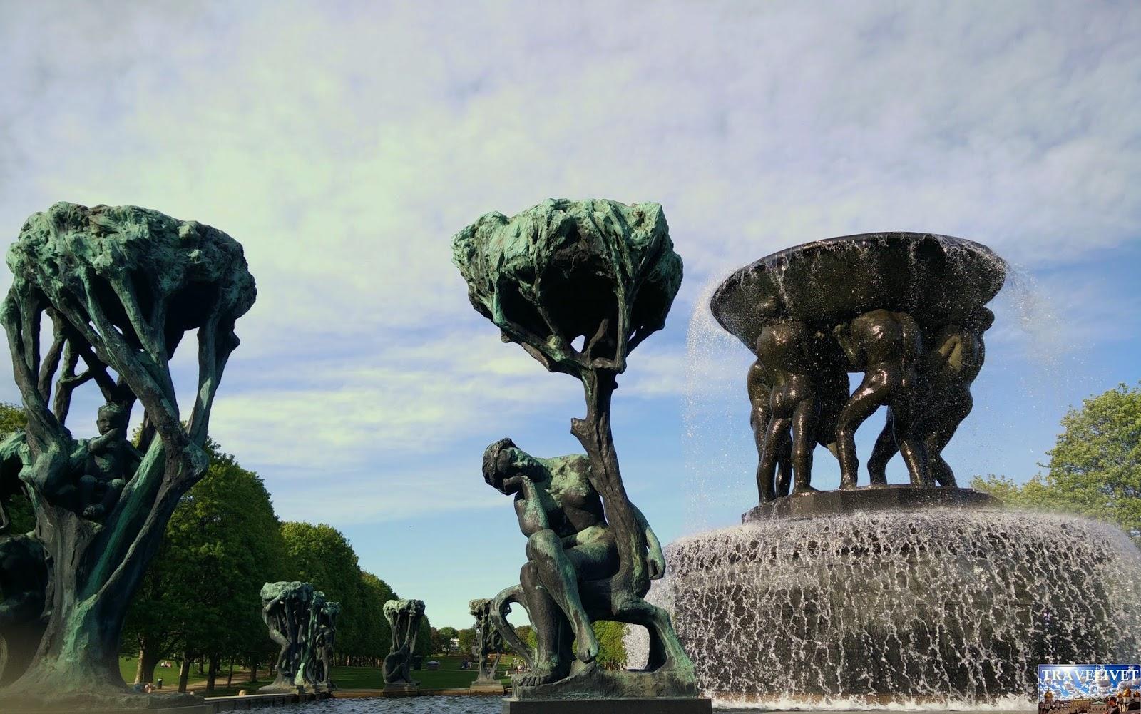 Norvège Oslo Vigeland statues