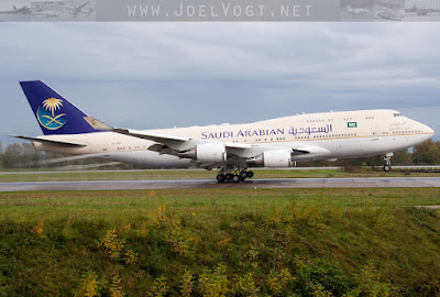 Saudia (Saudi Arabian Royal Flight) Boeing 747-400 HZ-HM1