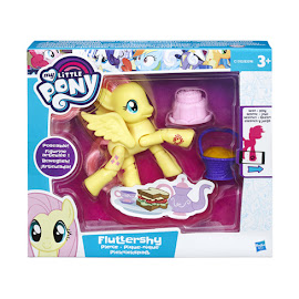 My Little Pony Posable Figures Fluttershy Brushable Pony