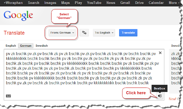 English To Italian Translator Google: Zula Cobos's Blog: Review Of Google Translator German To