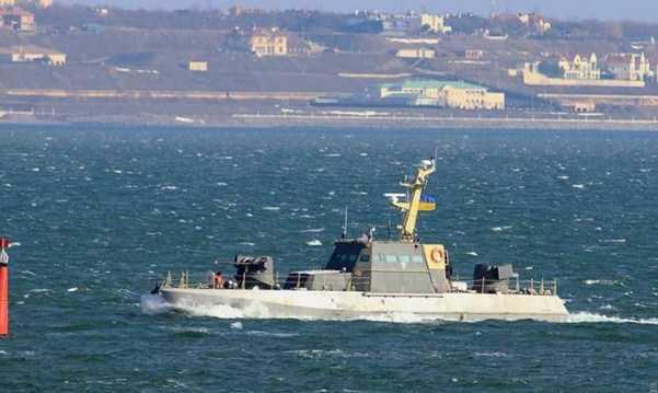 Gurza-M Perahu kecil Artileri Lapis Baja Baru Ukraina