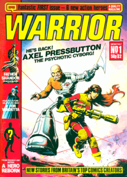 Warrior Comics #1 image