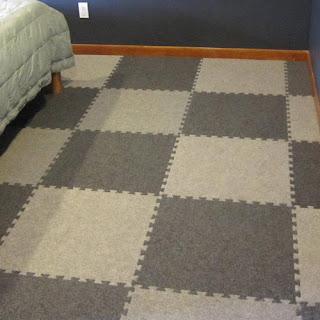 Greatmats Royal Interlocking Carpet Tile bedroom flooring