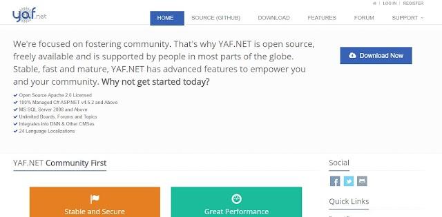 Mã nguồn Forum aspnet chuẩn - tải về ngay và trải nghiệm